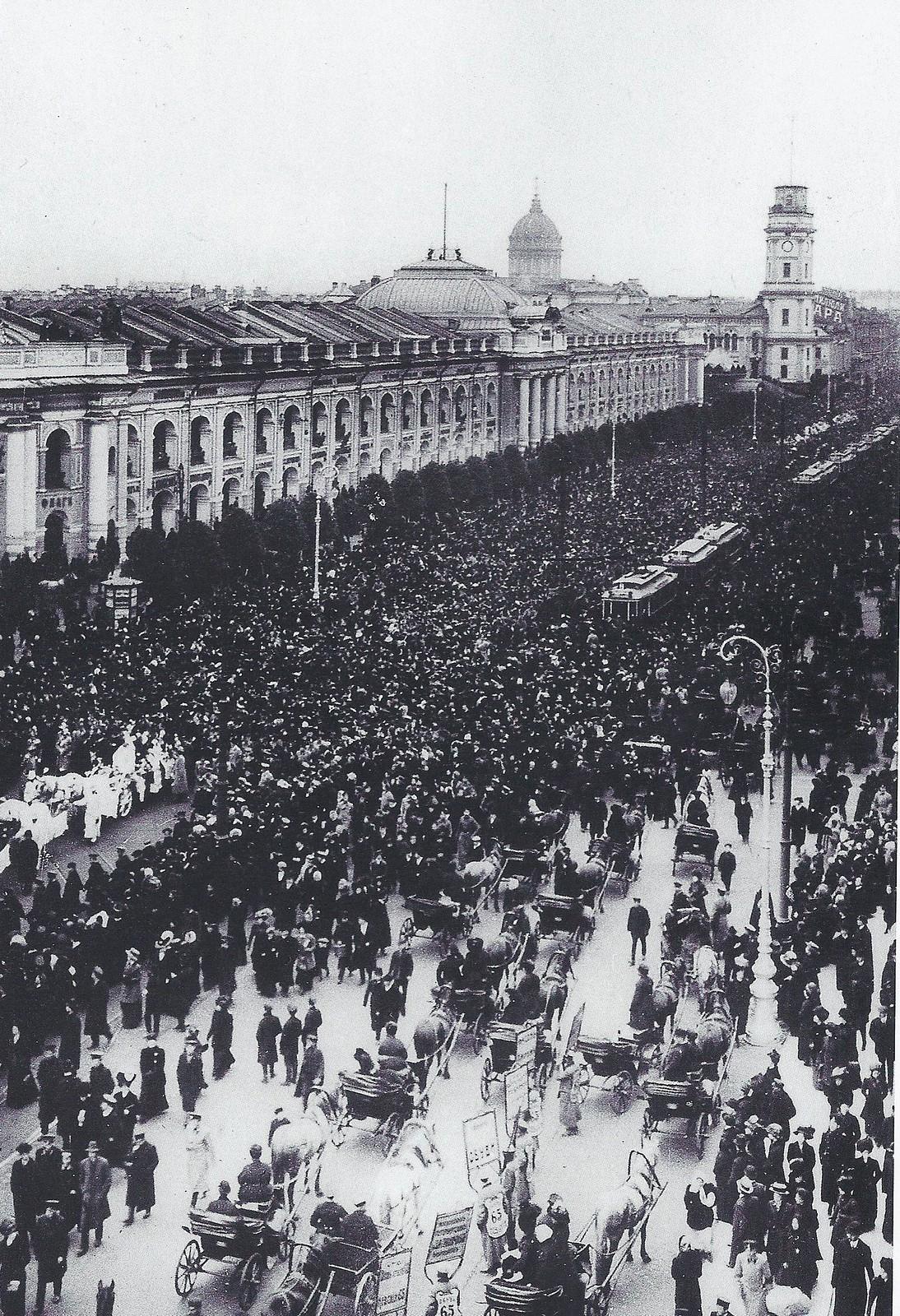1910. Похороны летчика Л.М.Мациевича. 28.09.