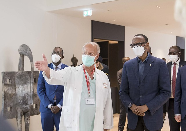 Inauguration of President Paul Kagame Auditorium at IRCAD France | Strasbourg, 19 May 2021