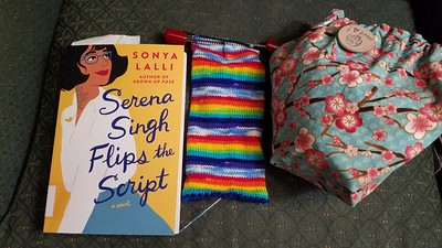 Spring Knitting and Reading