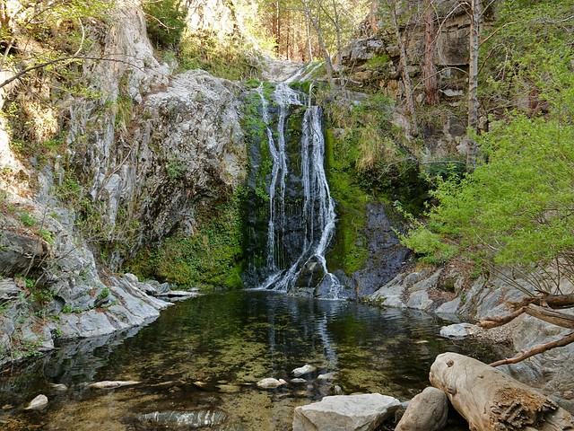 Cooper Canyon Falls-angeles forest