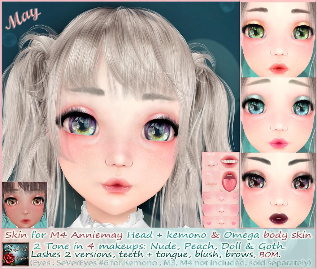 *{ SeVered GarDeN }* MAY Skin – M4 AnnieMay Head
