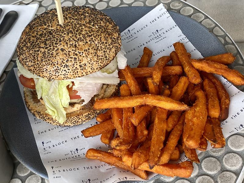 Angus & Brisket burger