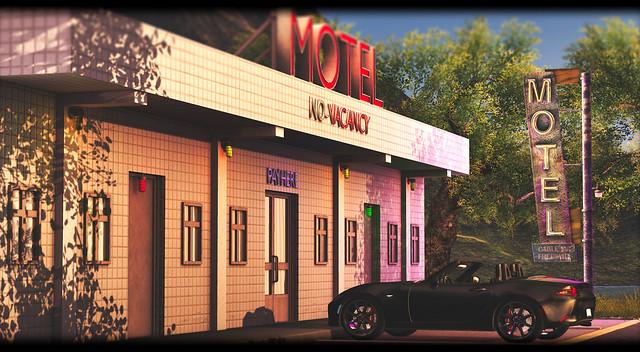 MAN CAVE - Motel Vacancy