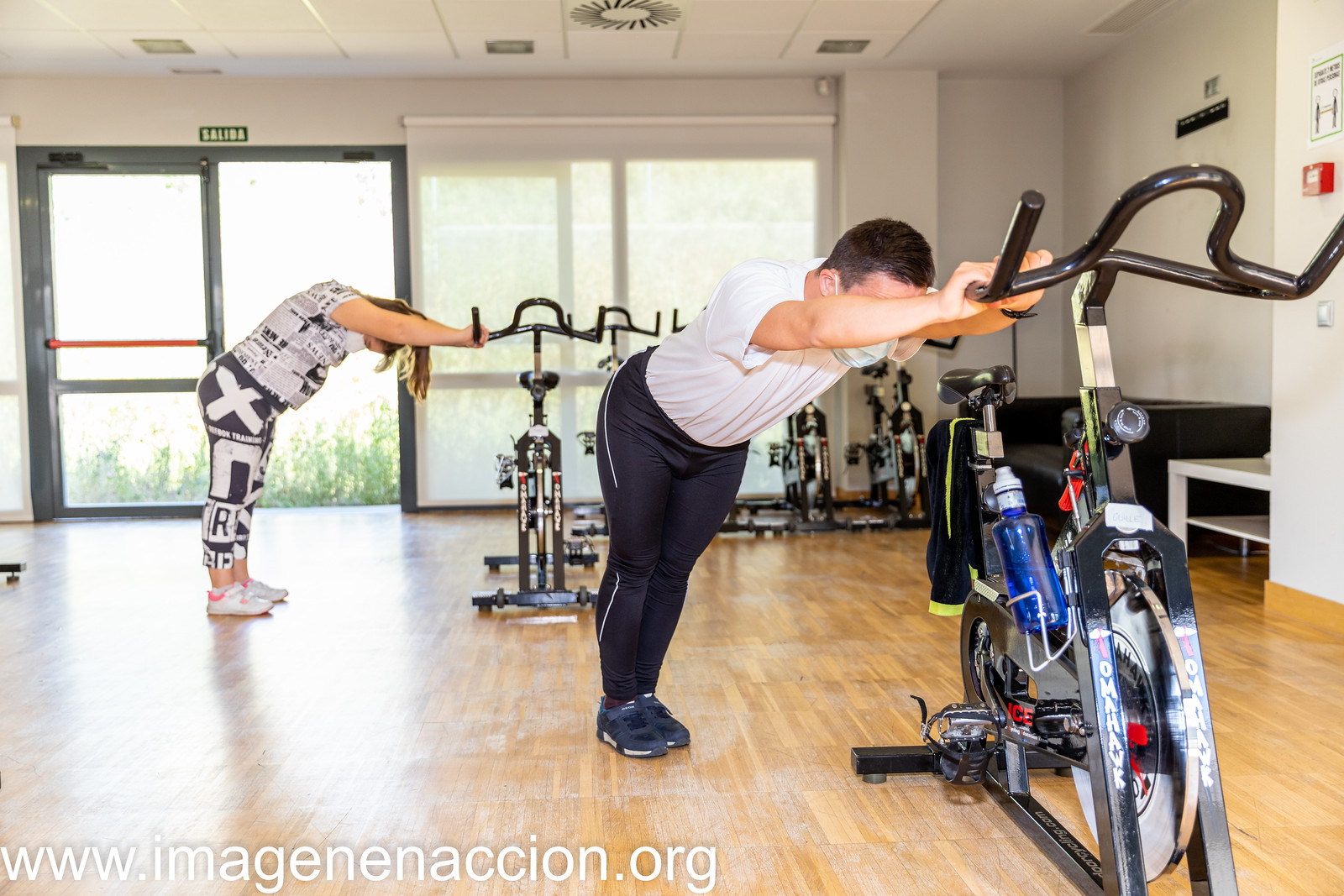 """DOWN MADRID """"CLASE DE SPINNING"""" EXTRAS"""
