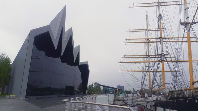 Riverside Museum and the Glenlee Tall Ship