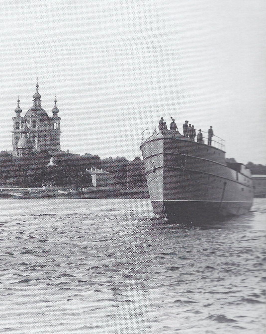 1912. Вид на Смольный собор