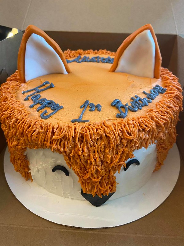 Fox Cake from Precious Pretzels by Valerie