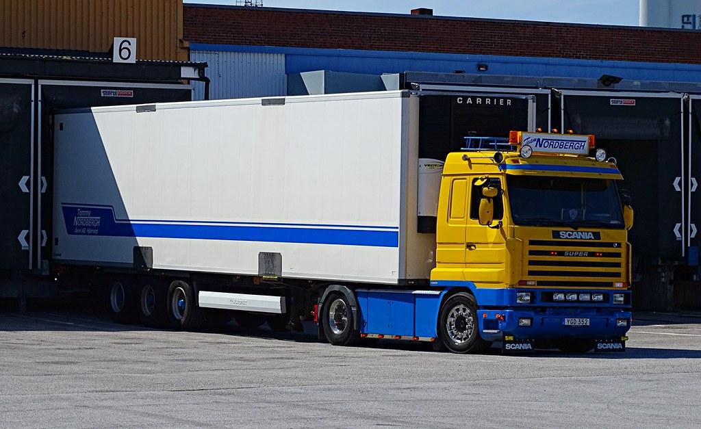 Scania 143M 420 Streamline - Team Tommy Nordbergh Åkeri AB - Ex. Jelle Schouwstra Transport