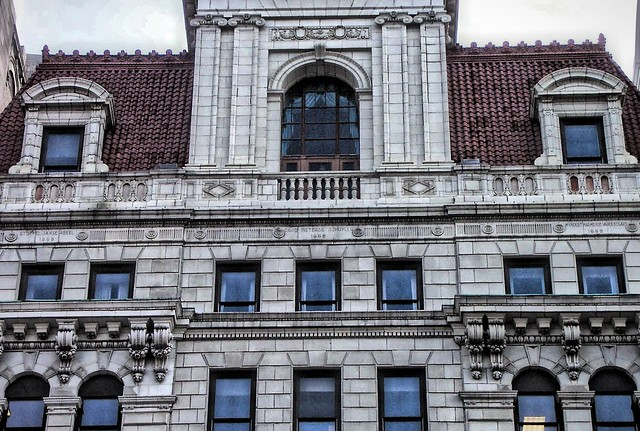 New York State Capitol ~ Albany New York ~ Exterior ~ Facade