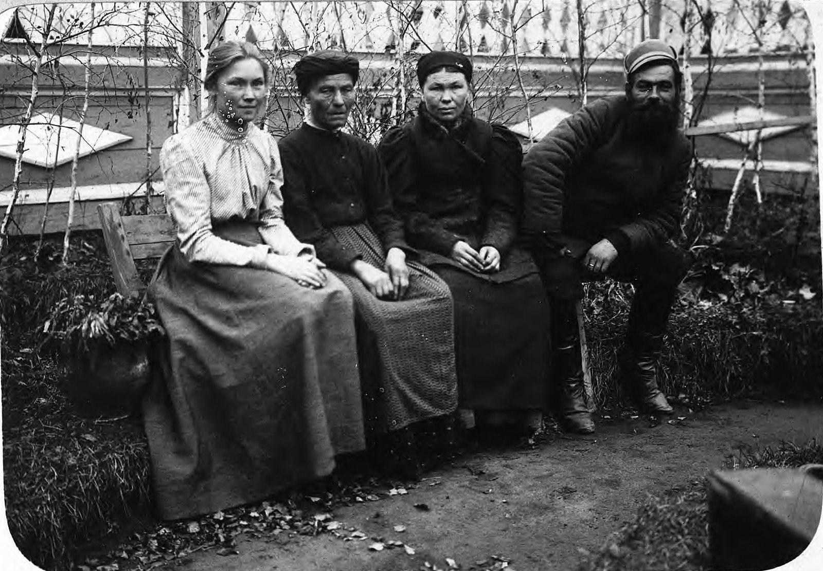 Семья старообрядцев