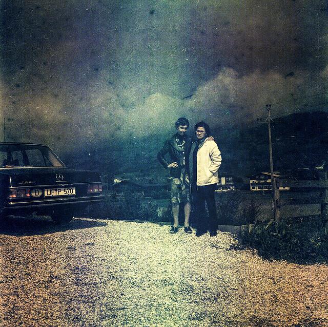 Foto amb Mercedes / Portrait with Mercedes