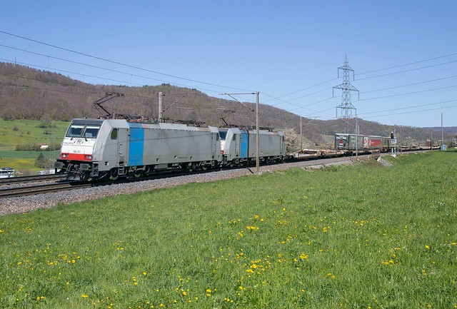Railpool 186 101 + 186 251 Frick