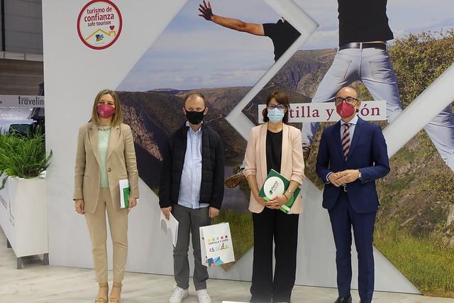 Presentación folleto de turismo en lectura fácil de Castilla y León