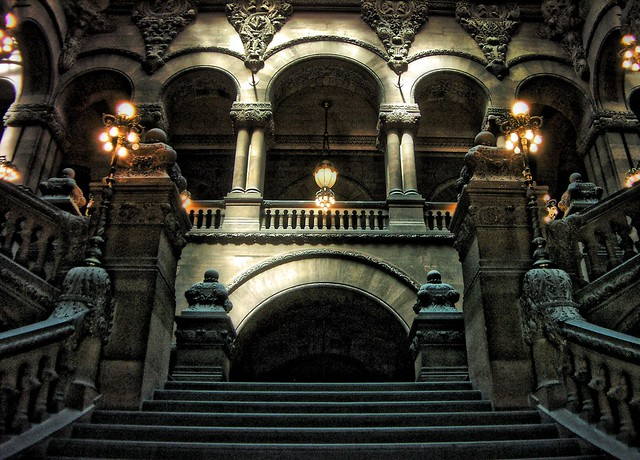 New York State Capitol ~ Albany New York ~ Million Dollar Staircase