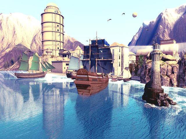 Port Iskander - Port Reflections