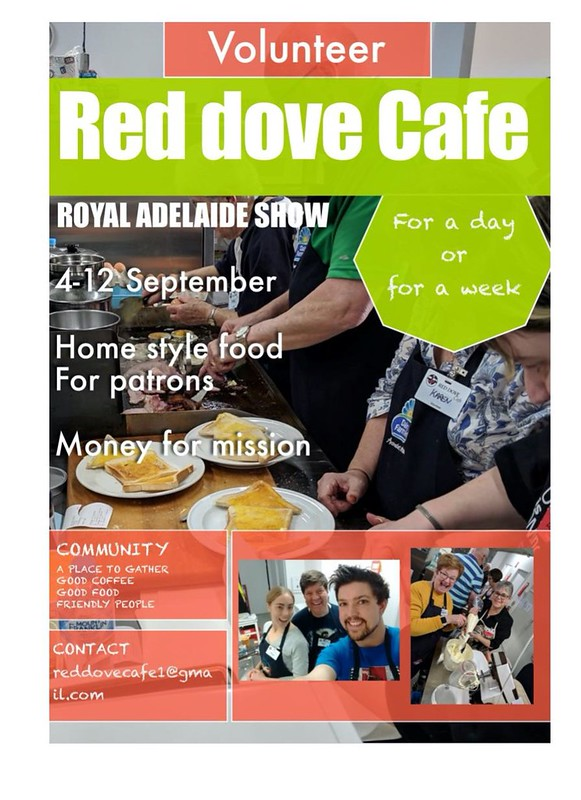 Volunteer at the Red Dove Cafe