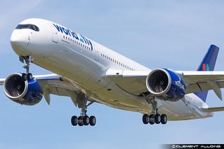 World2Fly Airbus A350-941 cn 448 F-WZHI // EC-NOI