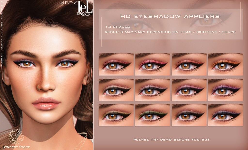 Synergy – Lelutka HD Eyeshadow Applier for EVO/EVO X heads – Cheyenne♥