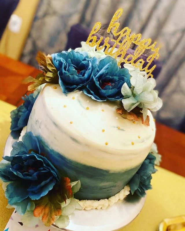 Cake by Sweet Velvety Bliss Bakery