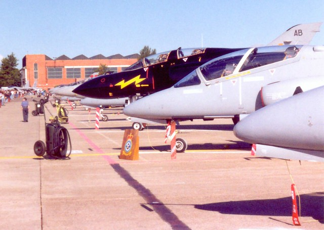 Fast Jet Static Mildenhall Air Fete 26 May 1990
