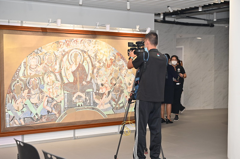 Art Exhibition of the Qiuci Caves on the Silk Road