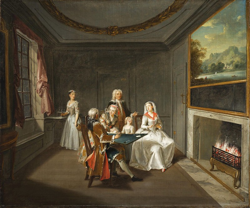 Attributed to Joseph van Aken (c.1699-1749) - Winter