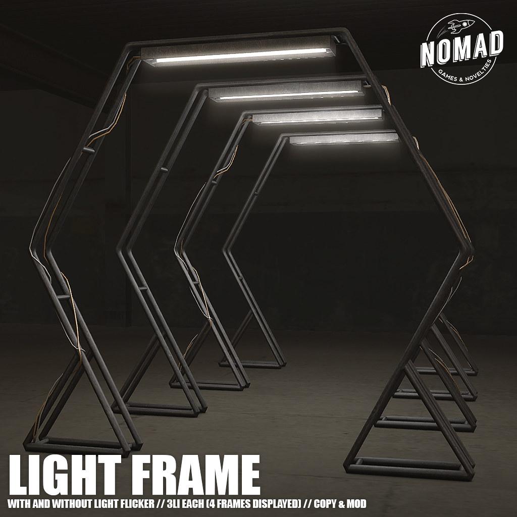 NOMAD // Light Frame
