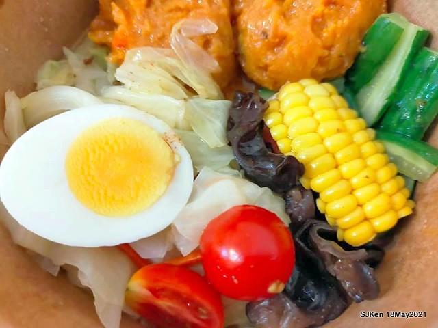 二訪「Hungry Dogs 二犬健康餐飲」(Healthy Meal lunch box ), Taipei, Taiwan, May 18, 2021.