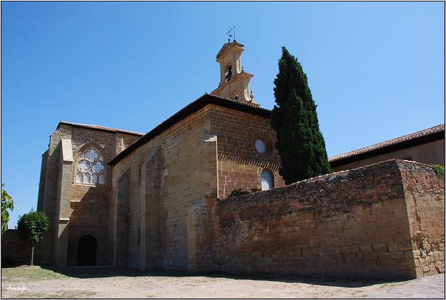 Monasterio de Santa María del Salvador (Cañas, La Rioja, España, 23-8-2012)