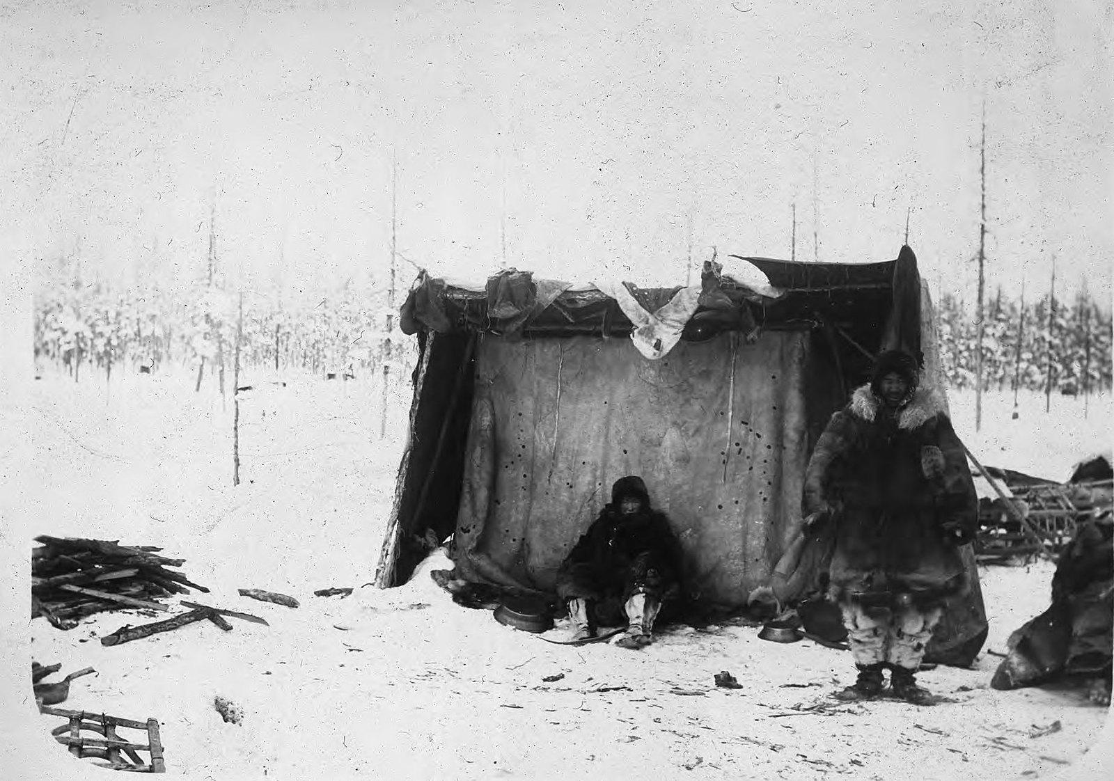Вилюйско-Олёкминский путь. Зимний бивак