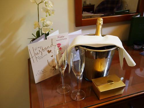 Anniversary at the Eastbury Hotel