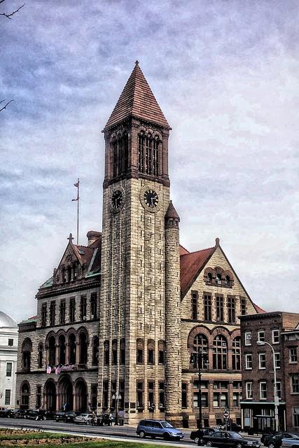 Albany New York ~ Albany City Hall ~ Designed by H.H. Richardson