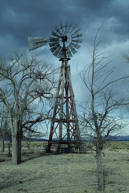 windmill. soccoro county, nm. 1999.