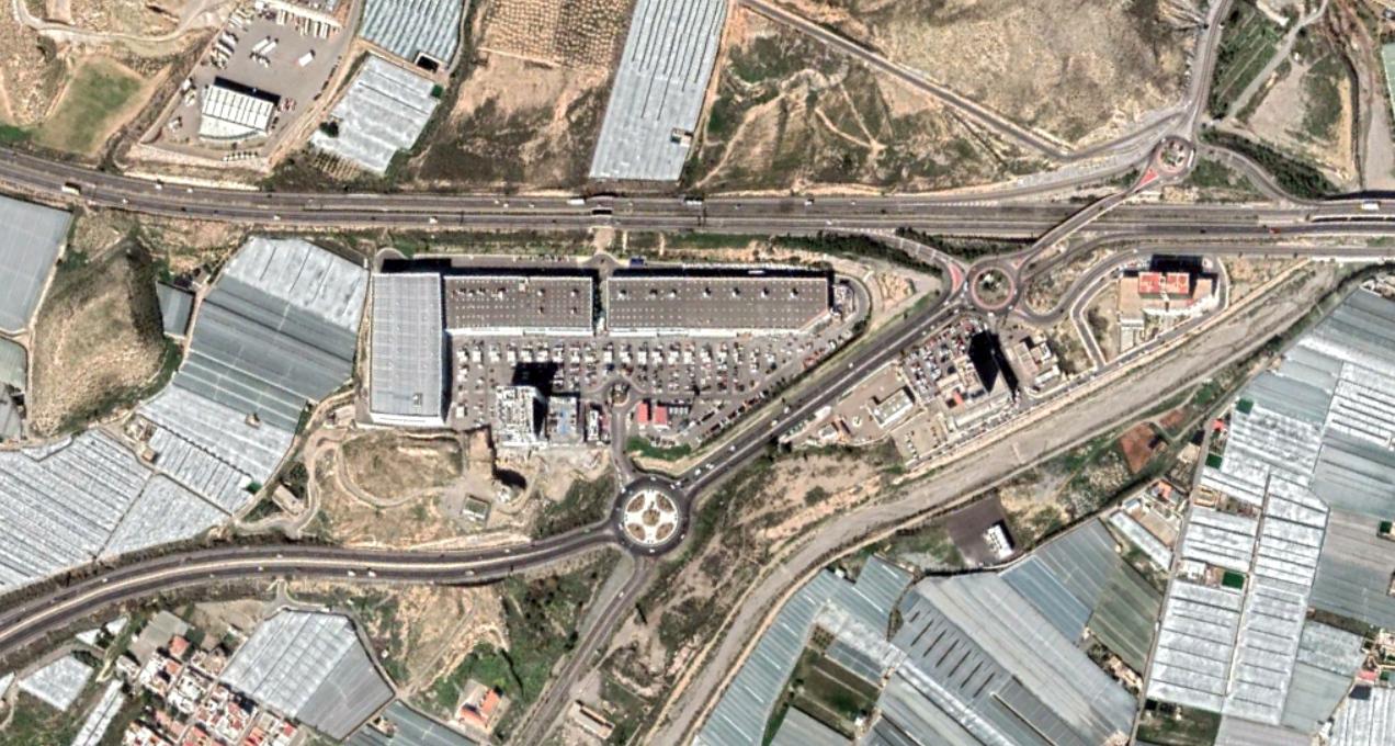el parador de las hotichuelas, almería, the small greens stopper, después, urbanismo, planeamiento, urbano, desastre, urbanístico, construcción, rotondas, carretera