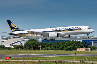 F-WZFL // 9V-SJB SINGAPORE AIRLINES AIRBUS A350-941 msn 472