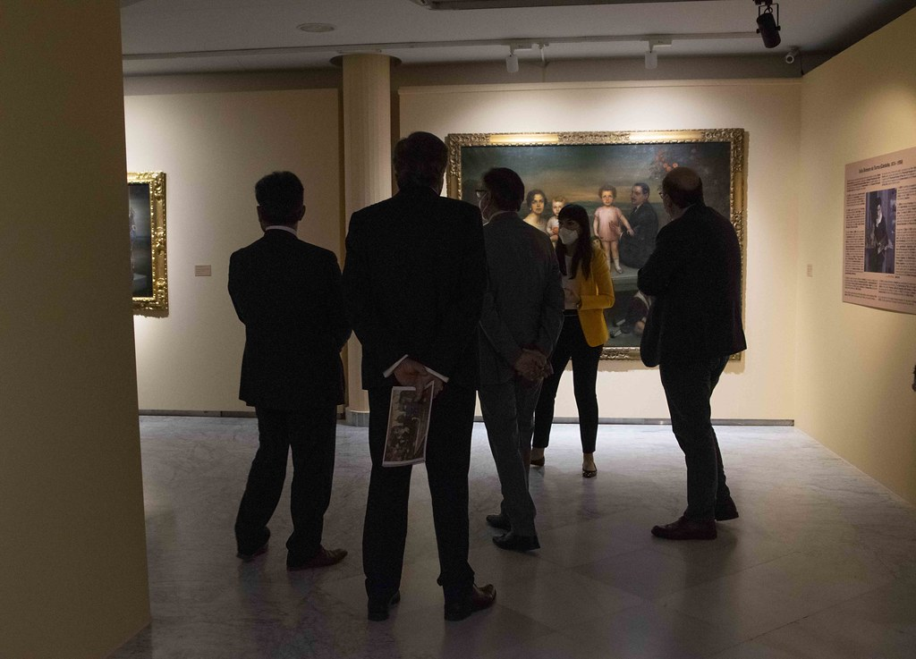 Inauguración exposición. Tres visiones de España. Sorolla, Romero de Torres y Solana. Foto. Almudena Iglesias Martín. (12)
