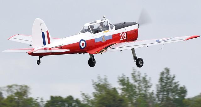 De Havilland DHC-1 Chipmunk T.10 RAF WB585 G-AOSY