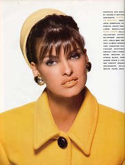 Vogue Italia editorial shot by Patrick Demarchelier 1990