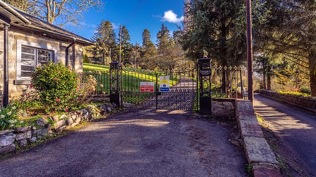 Boleskine House Gates 1 of 2 Colour