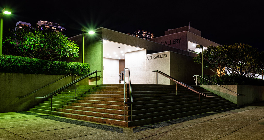 The Queensland Cultural Centre: Art Gallery (Brisbane, Australia)