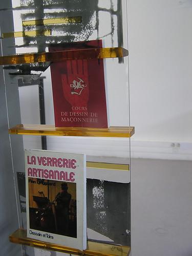 Panneau de verre détail Marion Vidaling