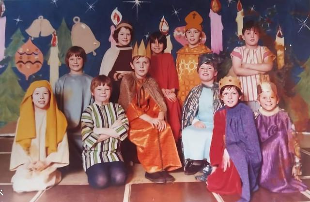 Dundonald Primary School nativity cast (Enhanced)