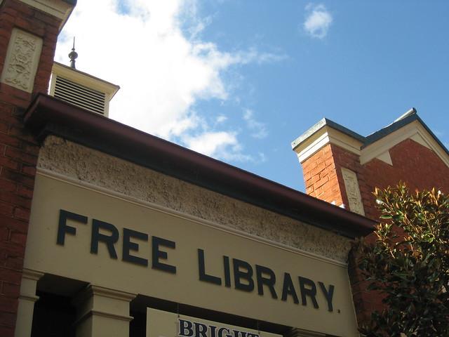 The Bright Free Library - Ireland Street, Bright
