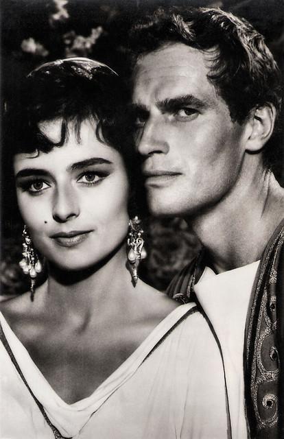 Marina Berti and Charlton Heston in Ben-Hur (1959)