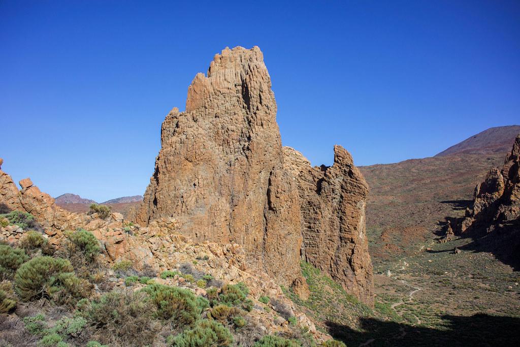 Catedral en el Parque Nacional del Teide