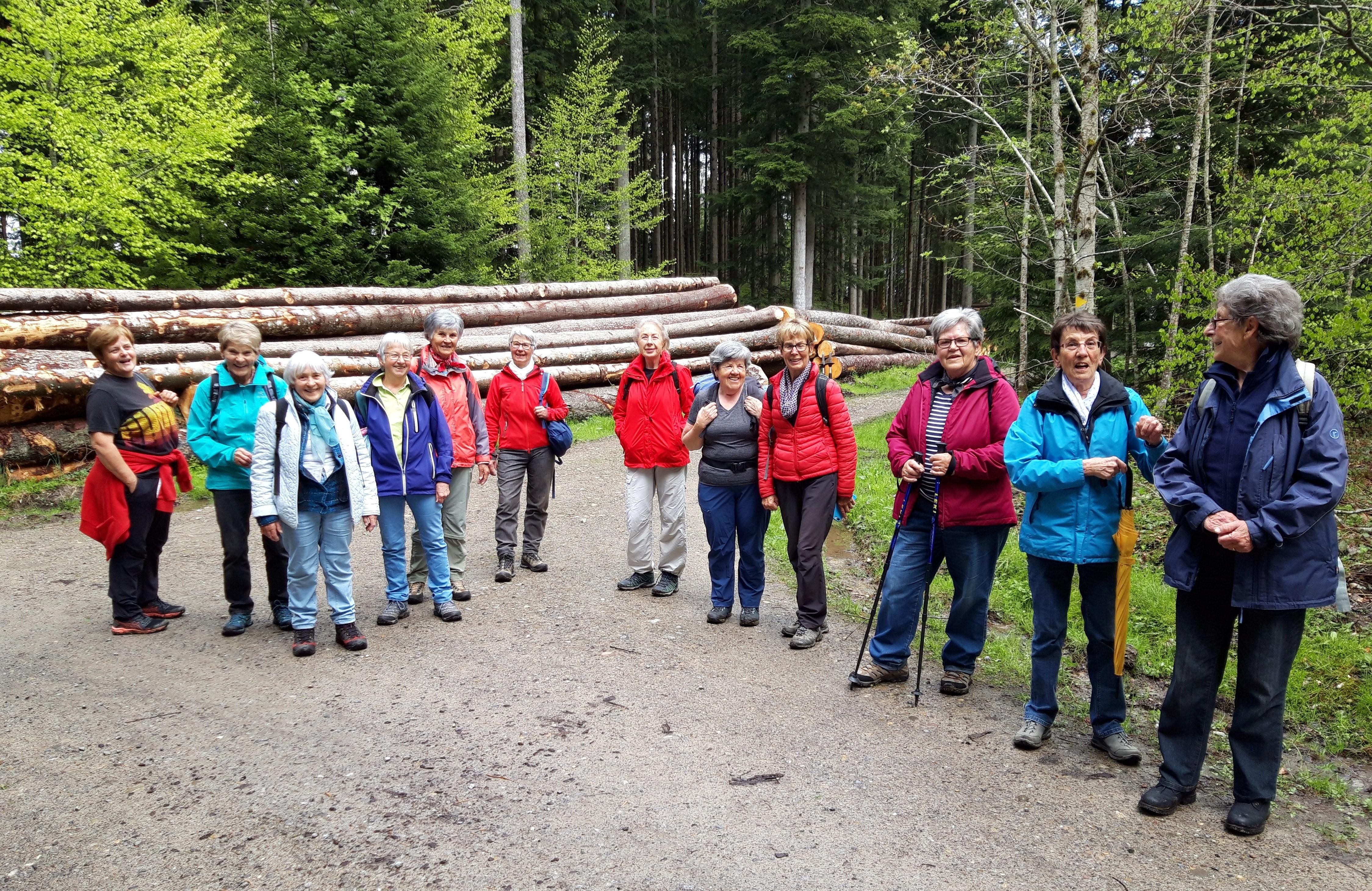 Wanderung auf die Waldegg Mai 2021