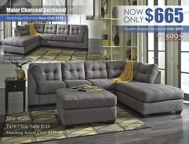 Maier Charcoal Sectional 45200_Update