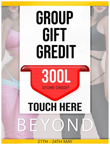 .:Beyond:. 300L Group Gift Store Credits!!