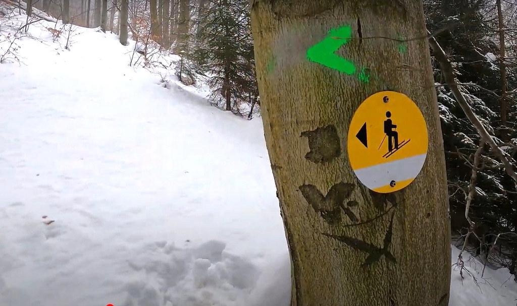 Skialp nad Hrobem - Bouřňák Krušné hory Czech photo 01