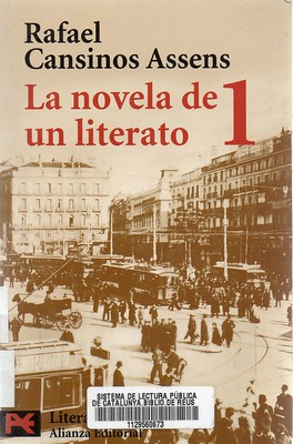 Rafael Cansinos Assens, La novela de un literato